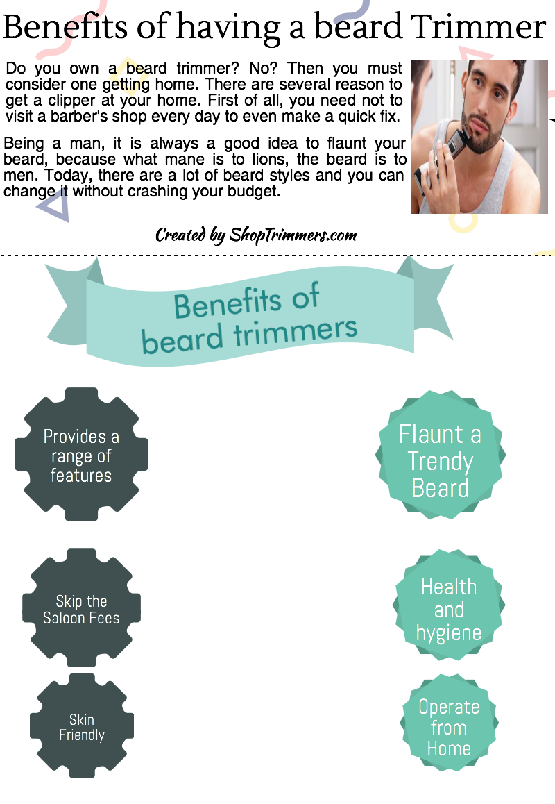 benefits of beard trimmer