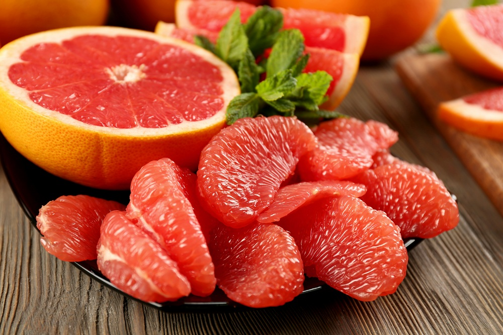 Grape fruit_Top 5 Fat burning foods