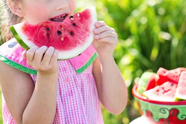 Children Eating Healthily