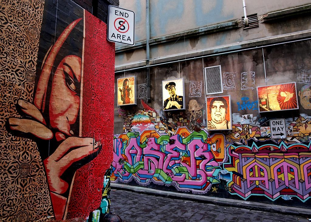 Melbourne art tour, Australia