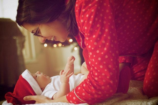 mother of a newborn
