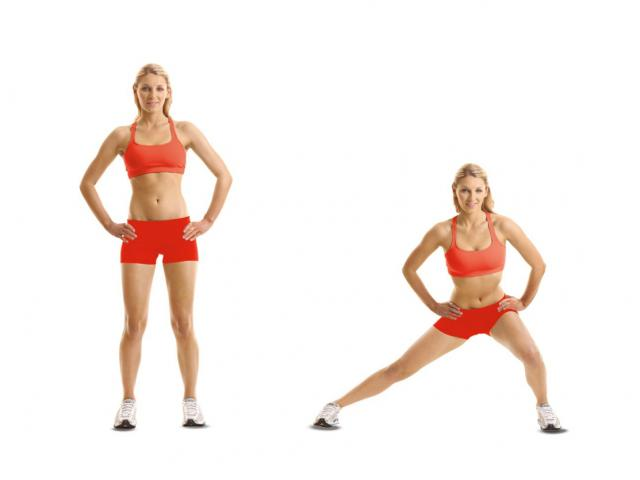 Side to Side Jumping Lunges
