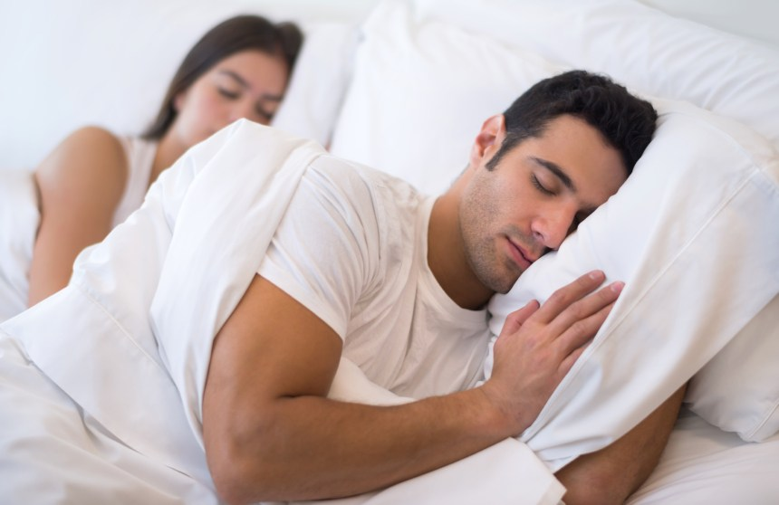 Use pillows while you sleep