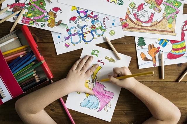 Creating Art as a Precursor to Writing