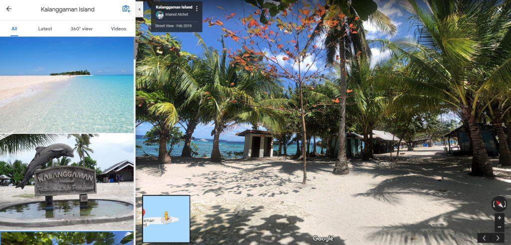 google-maps-kalanggaman-island