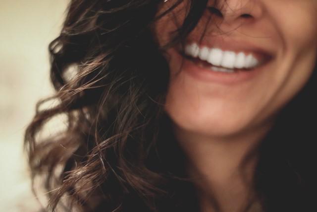 Dazzling smile