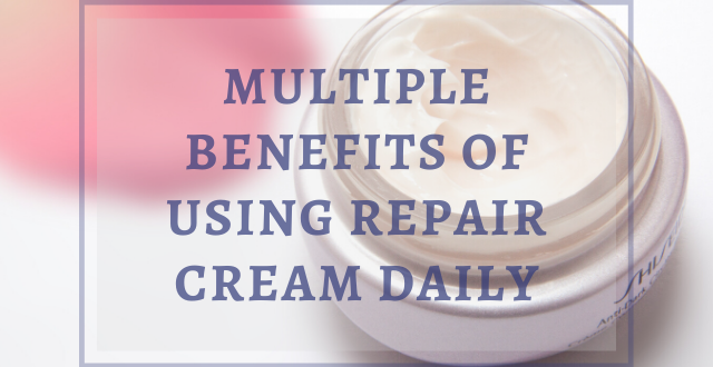 Using Repair Cream Daily