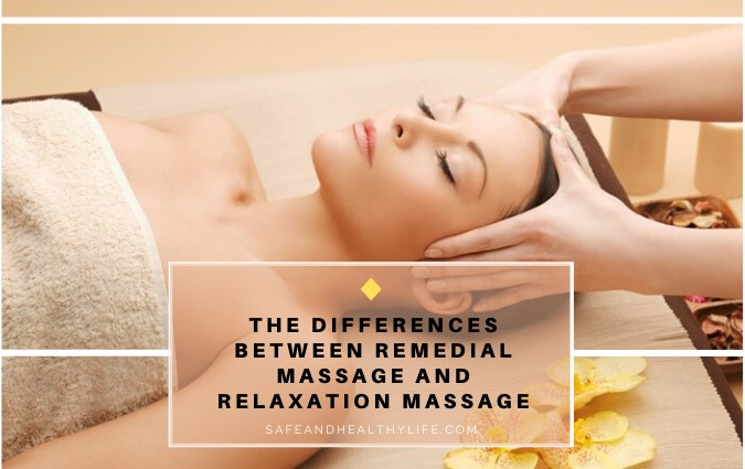 Remedial Massage and Relaxation Massage