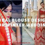 Bridal Blouse Designs for Winter Wedding