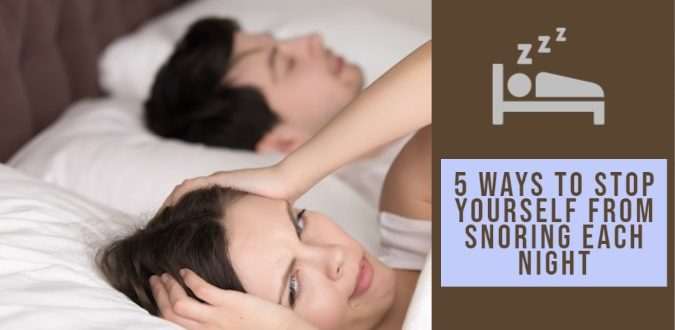 Chronic snoring