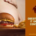 Obesity: Get It Under Control!