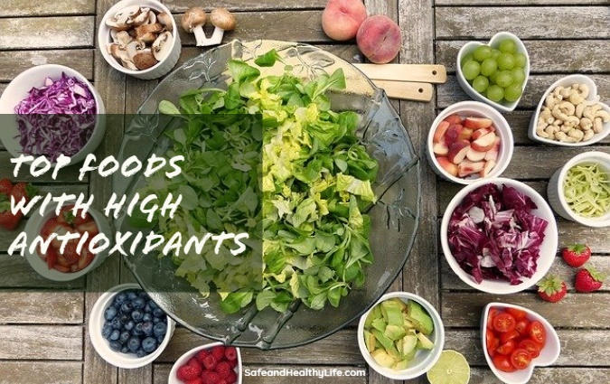 Top Foods with High Antioxidants