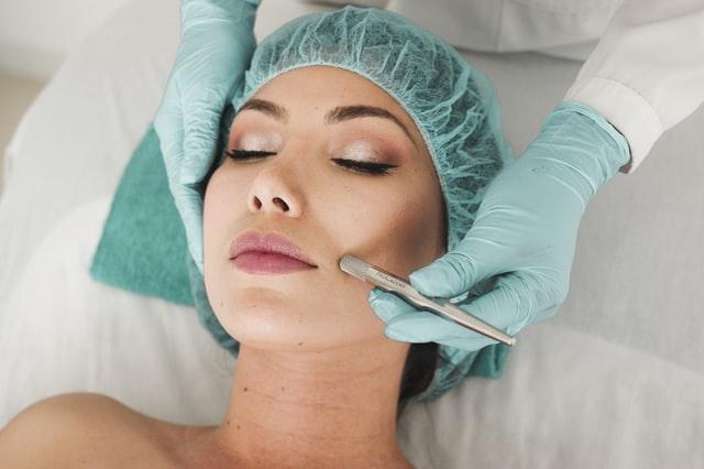 Visiting a dermatologist