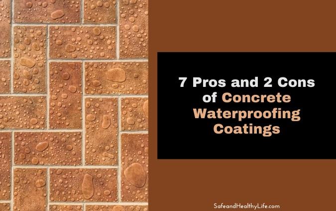 Concrete Waterproofing Coatings