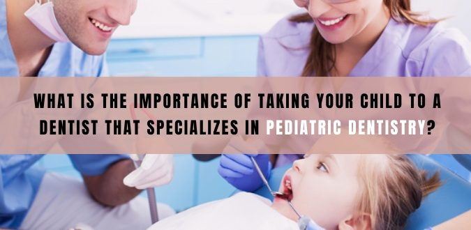 First dental visit of your kid