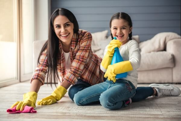 Clean your home without stress