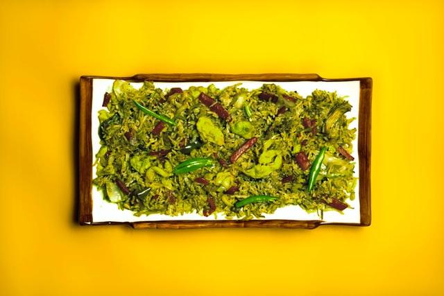Cabbage and Pulses Sabzi