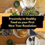 Proximity to Healthy Food as Your First New Year Resolution