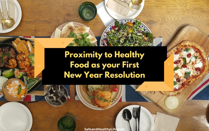 Healthy Food as Your First New Year Resolution