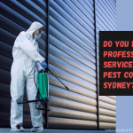 Do You Need Professional Services for Pest Control Sydney?