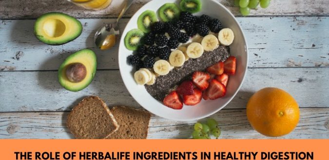 Herbalife Ingredients in Healthy Digestion