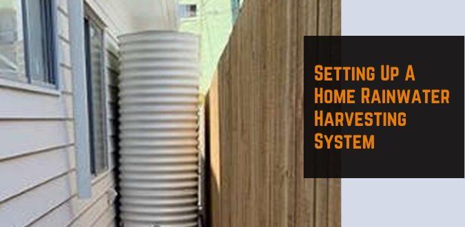 Home Rainwater Harvesting System