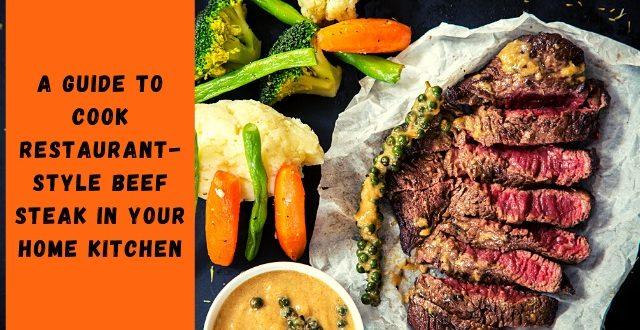 Restaurant-style Beef Steak