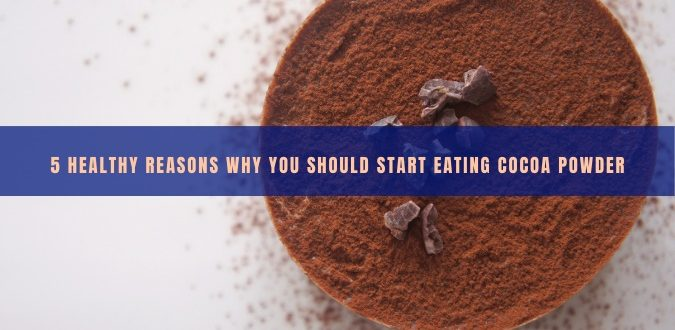 Start Eating Cocoa Powder