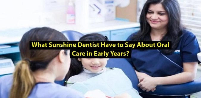 Oral Care in Early Years
