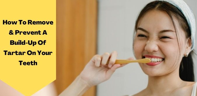 Remove tartar build-up on the teeth